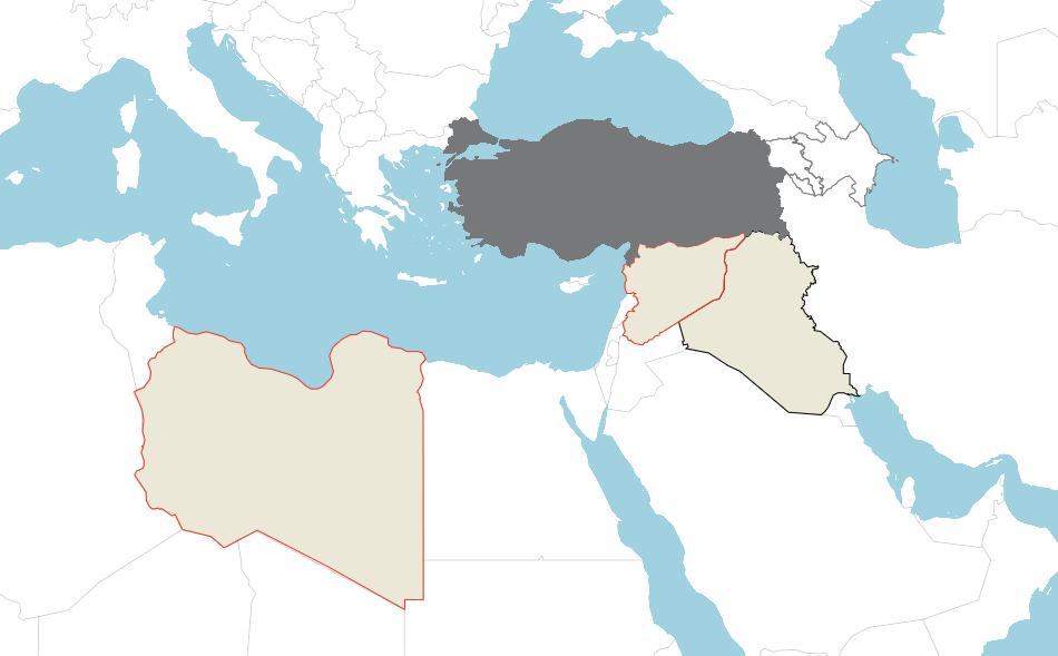 Türkiye Ortadoğu Çatışma