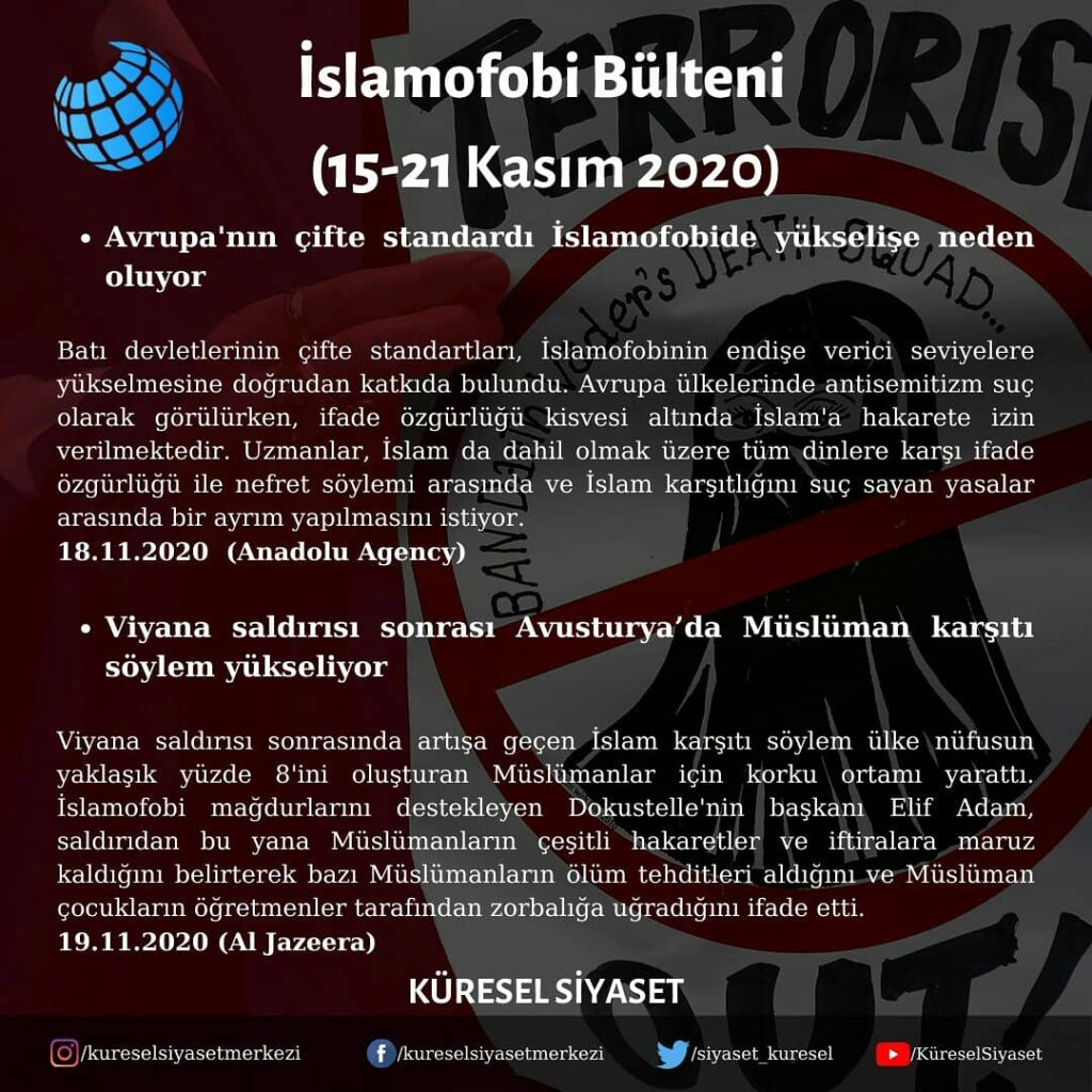 İslamofobi Bülteni