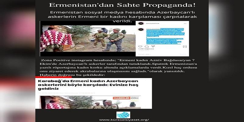 Ermenistan'dan Sahte Propaganda