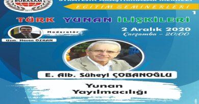 Türk Yunan İlişkileri Semineri