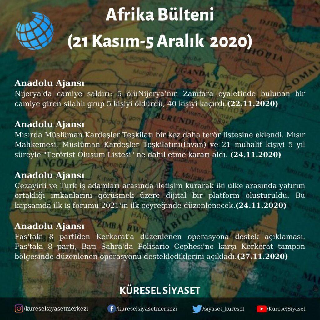 Afrika Bülteni