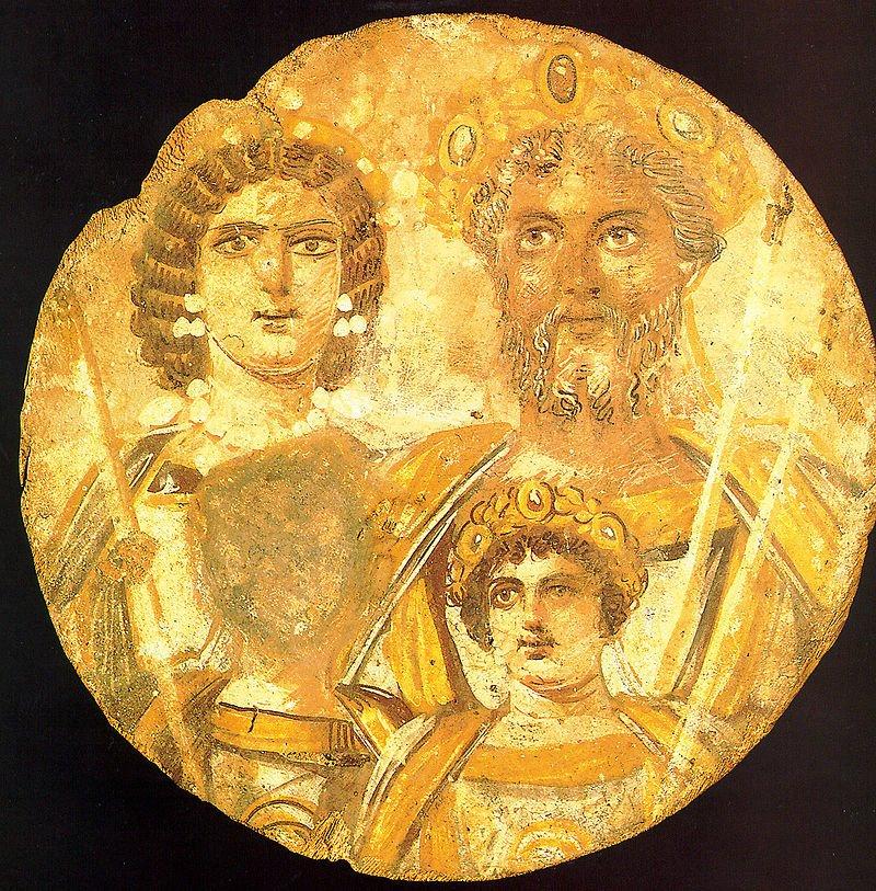 Geta ve Caracalla Roma İmparatorluğu
