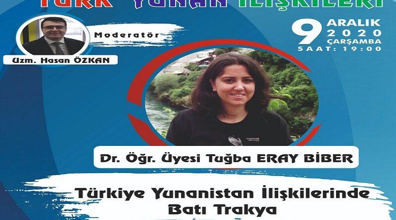 Türk Yunan İlişkileri Semineri 2